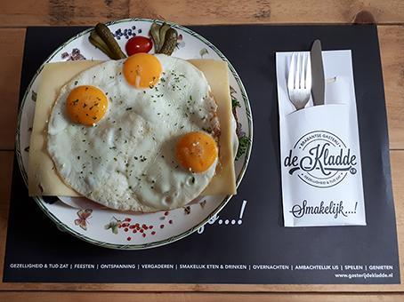 Uitsmijter - Gasterij de Kladde